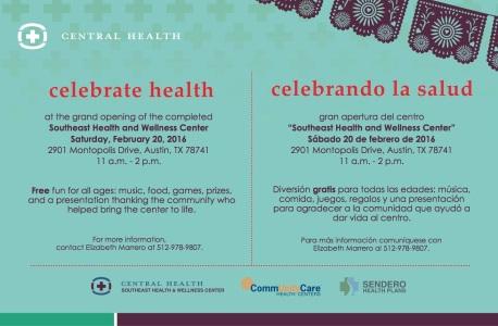 celebrando la salud - postcard - front-01