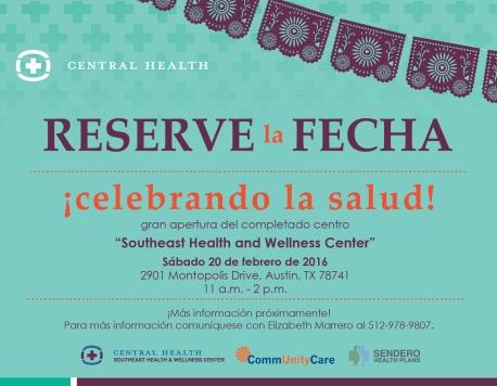 Celebrando la Salud_save the date - spanish